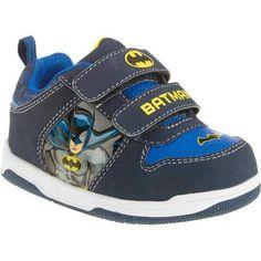 Boys Cool Batman Logo Superman Hi-Top Trainers Shoes Velcro Various sizes