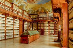 Seitenstetten Abbey Library in Seitenstetten, Austria