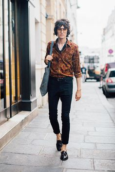 Street Style Men's Collections S/S17 - Paris