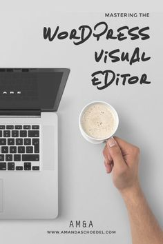 Mastering the WordPress Visual Editor // The WordPress visual editor has tons of features to transform your blog posts and pages from drab to fab. You're selling yourself short by not learning all of the built in tools, like WordPress keyboard shortcuts and adding links to a WordPress post. Click to read more!