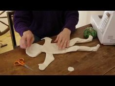 Rag Doll Making: Part 6 - Final steps before stuffing a rag doll. - YouTube