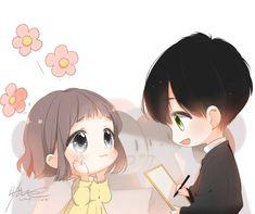 彼女が好きなデザインの美的ブロガー - Everything About Anime Anime Cupples, Cute Anime Chibi, Kawaii Chibi, Kawaii Anime, Anime Couples Drawings, Anime Couples Manga, Cute Anime Couples, Cute Chibi Couple, Anime Love Couple