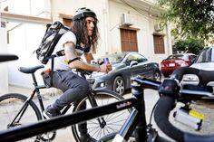 Bike messenger vs. Cab driver - bike, bicycle, action camera, sport camera, #sony #biking