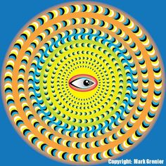 Optical Illusions That Moving | This optical illusion was submitted by Mark Grenier.