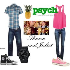 Shawn and Juliet, created by darian-nobriga on Polyvore