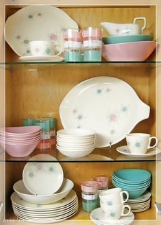 Mixed collection of some of my favorite pottery dishes.  --Evie '15