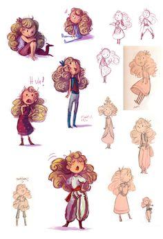 Sketchdump - more Lydias by idiacanthus.deviantart.com on @deviantART