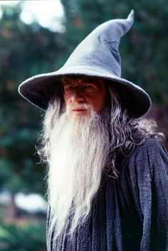Gandalf the Grey <3 I like him better than Gandalf the White; I feel like he has more personality and feeling.