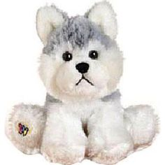 Webkinz Husky Dog Plush, Multicolor