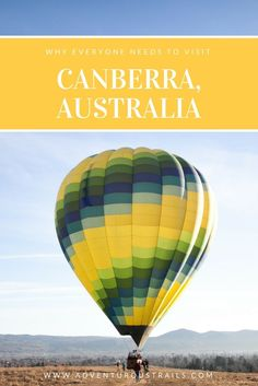 Visit Canberra Things To Do In Canberra Canberra Hot Air Ballooning Australia Australian Capital Territory Outdoors in Australia Things to do in Australia Hiking In Australia Australian War Memorial National History Museum TOP Things T Australia Travel Guide, Visit Australia, Australia 2017, Travel Guides, Travel Tips, Travel Destinations, Travel Advice, Budget Travel, Australian Capital Territory
