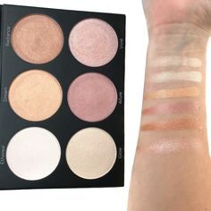 Review and Swatches: BH Cosmetics Spotlight Highlight Palette - Wellness by Kels