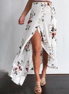 Crema - Floral Boho Skirt