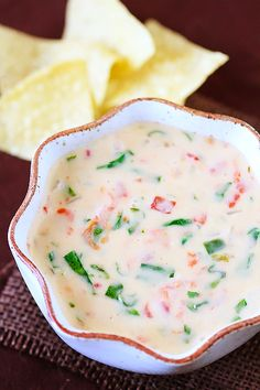 Spinach Cheese Dip is a deliciously cheesy dip that everyone will love!