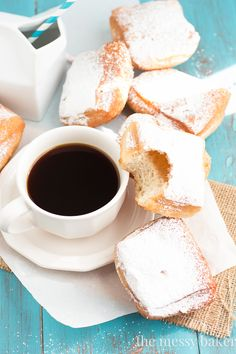 Buttermilk Beignets ~ #SundaySupper - The Messy Baker Blog