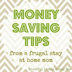 Trying to save money? These practical tips will get you started!