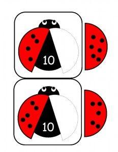 ladybugs math activities printables (3)