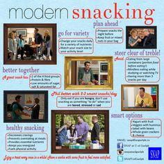 Modern Family + Snacking