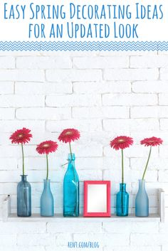 Looking for some decorative updates to help you embrace the warm weather? Take a look at these spring decorating ideas to get you started.