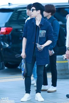Lay | 150529 Incheon Airport departing for Shanghai