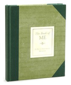Another great find on #zulily! The Book of Me Journal #zulilyfinds