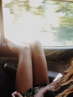 Hot summer day + broken air conditioner + road trip + bare feet out the window = wanderlustful #Langly #letsgosomewhere