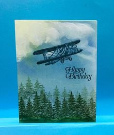 Stampin' Up! Sky's the limit by jandjccc - Cards and Paper Crafts at Splitcoaststampers by carmen Masculine Birthday Cards, Birthday Cards For Men, Masculine Cards, Male Birthday, Happy Birthday, Boy Cards, Cute Cards, Men's Cards, Stampin Up Karten