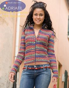 Gaudi Jacket in Adriafil Knitcol - Downloadable PDF. Discover more patterns by Adriafil at LoveKnitting. The world's largest range of knitting supplies - we stock patterns, yarn, needles and books from all of your favourite brands.