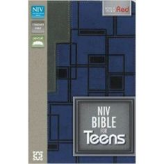 Designed for teens, this New International Version (NIV) Bible measures less than an inch thick and is easy to take with you any place you go . school, church, wherever. Easter Books, Niv Bible, Duo Tone, Modern English, Homeschool Kindergarten, Meant To Be, Christ, Presentation, Teen