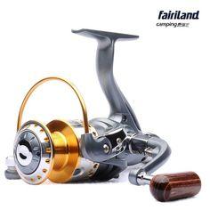 Fairiland Camping | MP2000-6000 8BB 5.1:1 Rear Drag Spinning Reel w/ Aluminum Spool Saltwater Freshwater