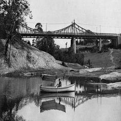 Ponte Benjamin Constant, situada na Av. Sete de Setembro. Manaus. Álbum do Amazonas 1901-1902