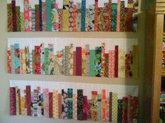 Library book quilt.  Love this!!!  Now to learn to quilt :)