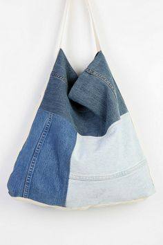Urban Renewal Patched Denim Bag