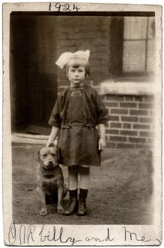 Our Billy, postcard 1924 © Libby Hall Collection