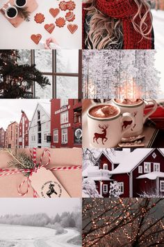 christmas in scandinavia aesthetic by Skogsra