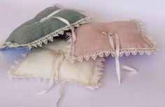rustic ring bearer / green ivory pink wedding by cornerofthegarden, $25.00