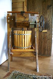 Homesteading In Maine: apple pressing. One of our favorite fall activities
