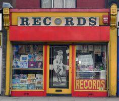 Records, Lee High Road SE13
