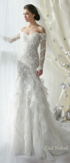 One Sleeve Wedding Dress . 30 One Sleeve Wedding Dress . Shirtwaist Wedding Dresses are Trending now Beautiful Wedding Gowns, Elegant Wedding Dress, Dream Wedding Dresses, Bridal Dresses, Beautiful Dresses, Boho Vintage, Winter Wonderland Wedding, Mod Wedding, Lace Wedding