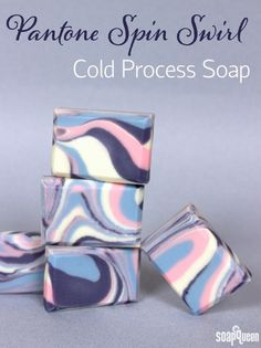 This soap was inspired by the Pantone colors of the year for 2016. Learn how to make it here!