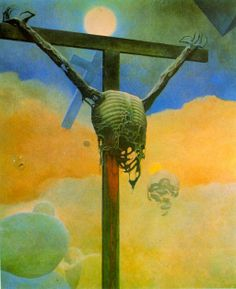 Zdzislaw Beksinski (24 February 1929 – 21 February 2005) was a renowned Polish painter, photographer, and sculptor. Beksiński executed his paintings and drawings either in what he called a 'Baroque' or a 'Gothic' manner. Beksiński was murdered in 2005.