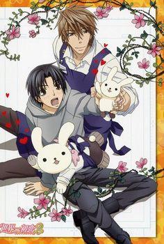 Favorite couple in this anime---Kisa Shouta & Yukina Kou