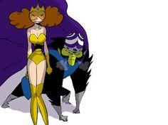 JPK: Fan art-Powerpuff girls -vilains