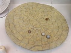 Who needs video games when you have Mehen?! ;) Ancient Egyptian Board games.  ~S #ancient #egypt #games