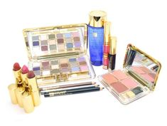 ESTEE LAUDER MAKEUP EYESHADOW BLUSH KIT COMPACTS EYELINERS LIPSTICKS GLOSSES * Find out more about the great product at the image link. Makeup Eyeshadow, Makeup Brushes, Eyeliner, Gloss Lipstick, Lipsticks, Cosmetics & Fragrance, Makeup Gift Sets, Estee Lauder Makeup, Blush