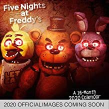 Read Download Five Nights At Freddys 2020 Calendar Official Square Wall Format Calendar Free Epub Mobi Five Nights At Freddy S Five Night Trends International