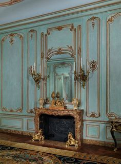 Image result for 17th century french wall panels