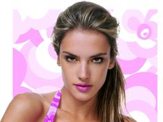Haighlights #hair #color ALESSANDRA AMBROSIO - THINK PINK.