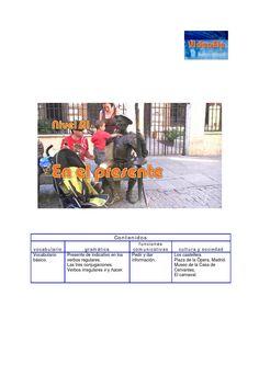 ISSUU - En el presente Nivel A1 Guía didáctica by VideoEle