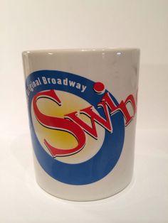 Swing Coffee Mug Broadway Musical  show 10oz  1999-2001 Tony nominated NYC #coffee #swing