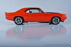 1969 Chevrolet Camaro. Find parts for this classic beauty at http://restorationpartssource.com/store/